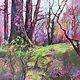 Acrylic painting Spring Melody by Marty Husted