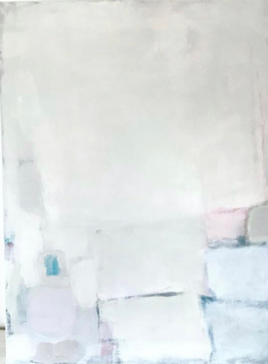 Acrylic painting Softly Sing by Sarah Trundle
