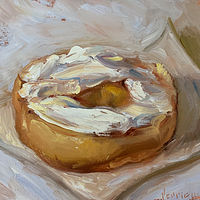 """Bagel & Cream Cheese"" by Noah Verrier"