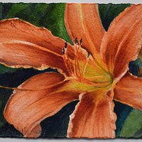 Day Lily by Lisa  Baechtle