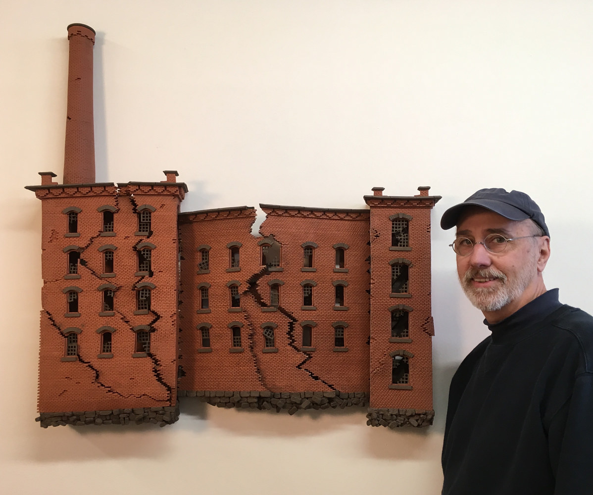 Lowell Mill Building by John  Brickels