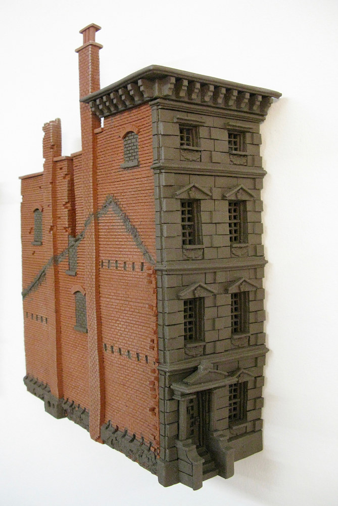 Ghost Building Corner by John  Brickels