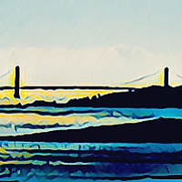Golden Gate by Deborah J Gorman