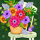 The Bright Side - Flowers of Faith  by Valerie Lesiak
