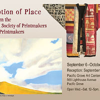 Perception of Place Exhibition Poster by Cathie Crawford