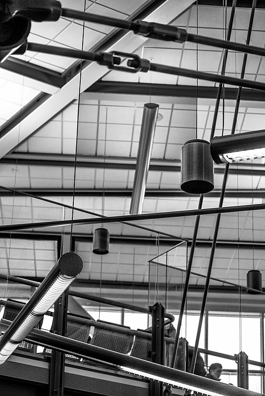 """Airport Ceiling"" by Hunter Madsen"