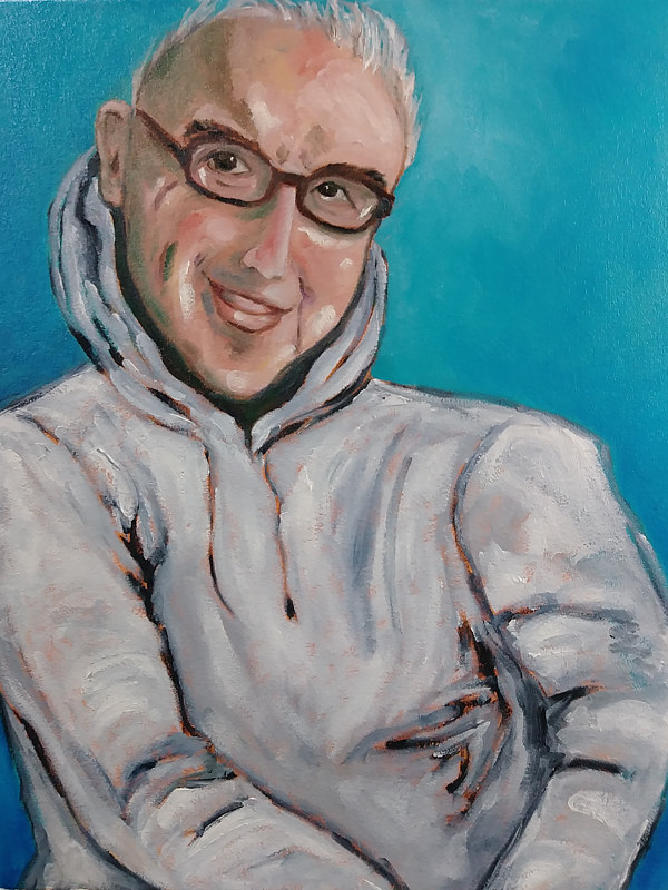 Portrait of Lee Billing   by Michelle Marcotte