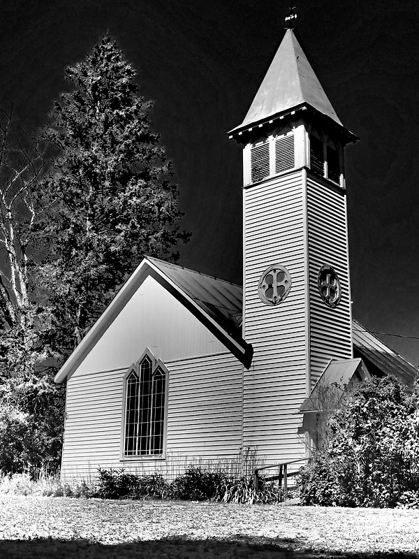 Anglican Church Magnetawan Ontario by Stephen Plunkett