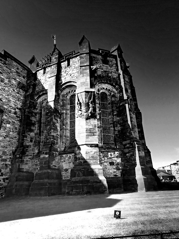Edinburgh Castle by Stephen Plunkett