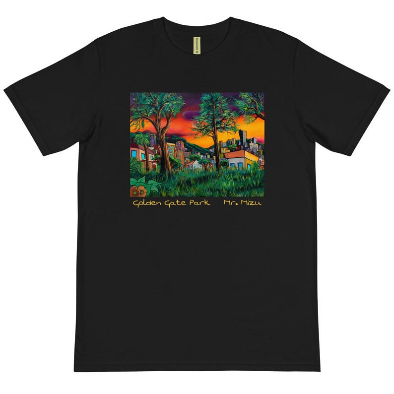 Golden Gate Park Shirt Black by Isaac Carpenter