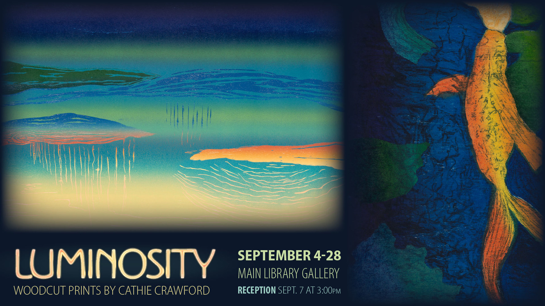 Luminosity Exhibition  by Cathie Crawford