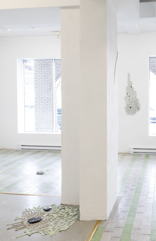 Vibrissa, installation view by Thea Yabut