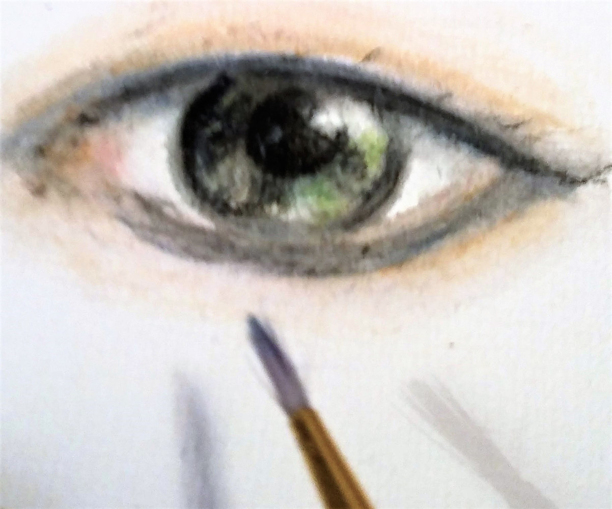 Eye Study by Patricia Becker