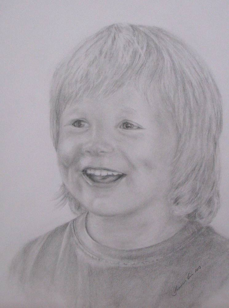 Drawing Malach  five years old by Shannon Coyle