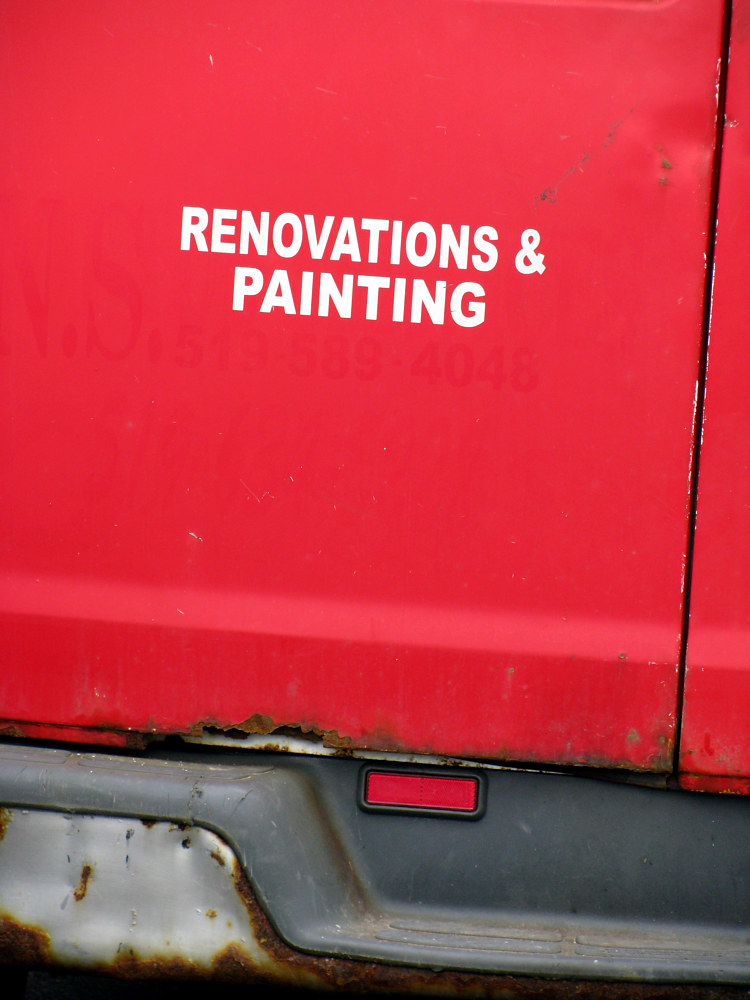 Renovations & Painting Truck by Sebastian Evans