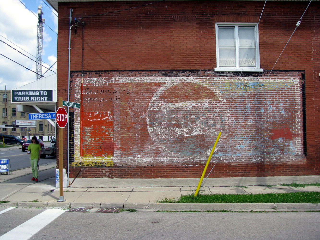Faded Pepsi Mural by Sebastian Evans