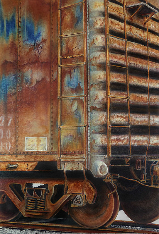 Drawing Weathered  by David Neace