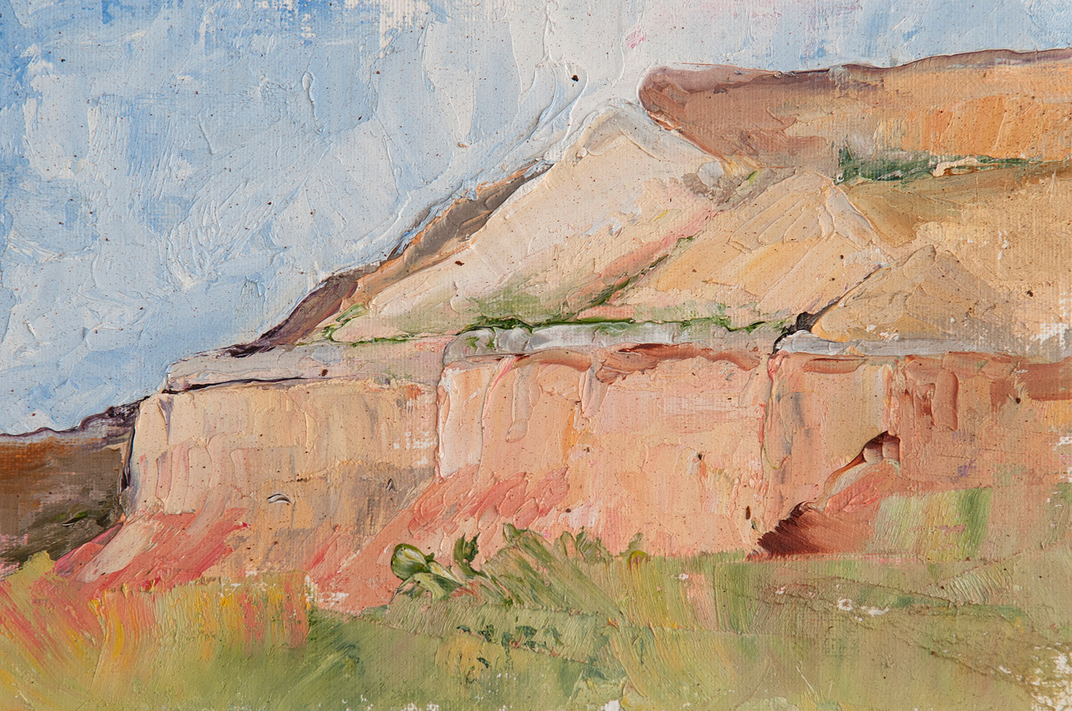 Oil painting Ghost Ranch02 by Kathleen Gross