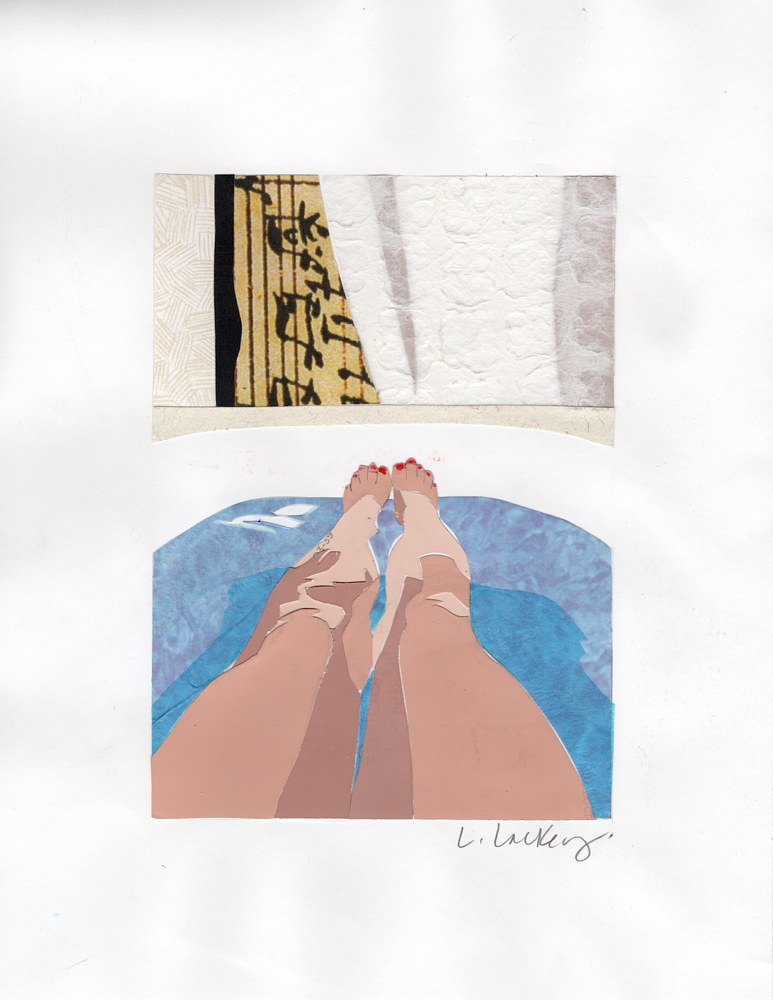 Drawing Bathtub by Lisa Lackey