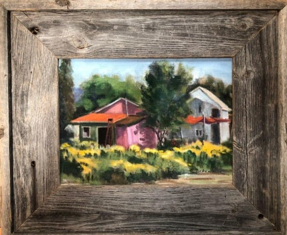 Behind ole Murphy's Saw Shop by connie scherr