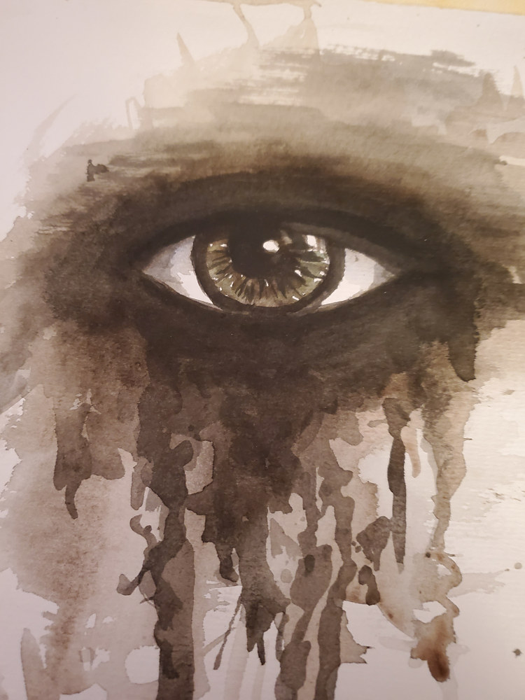 Watercolor Eye 3 by Patricia Becker