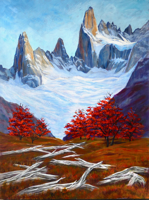 Mount Fitz Roy by Cecilia Lea