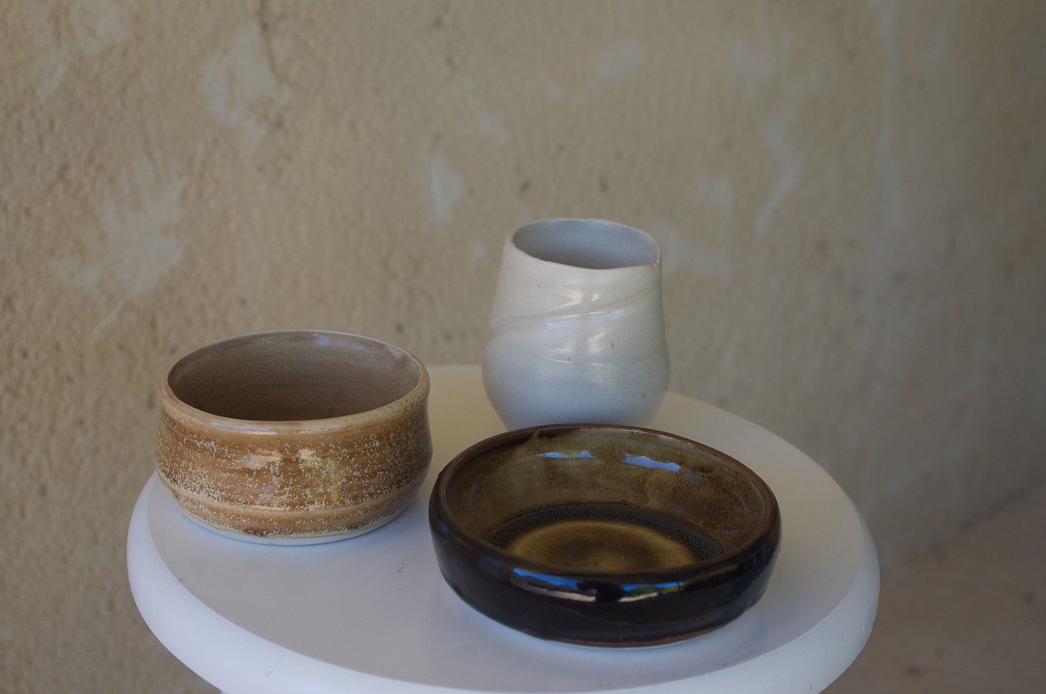 Selection of ceramics by Laurie by Laurie Cochrane