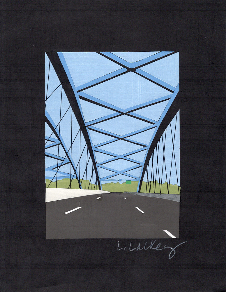 Drawing 10/31 Bridge to... by Lisa Lackey