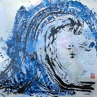 Blue Wave by Catherine Mansell