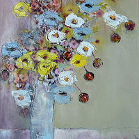 Bouquet with Cherries by Svetlana Barker