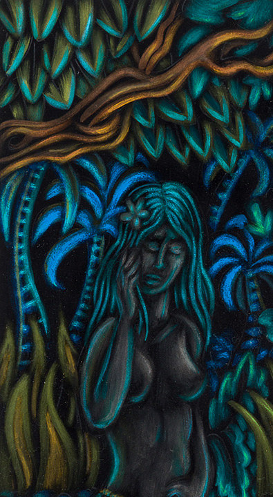 """Night Song"" detail by Kenneth M Ruzic"