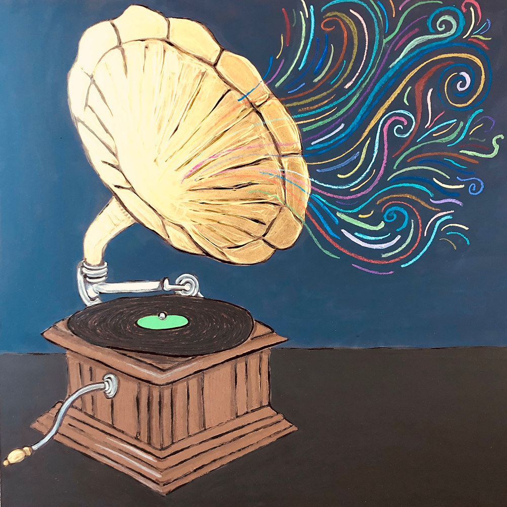 Phonographic Memory by Kelly Schafer
