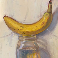 """Banana & Jar of Water"" by Noah Verrier"