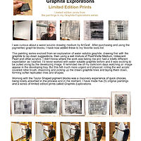 Print  Graphite Explorations____(click on the i for $ info) by Edward Bock