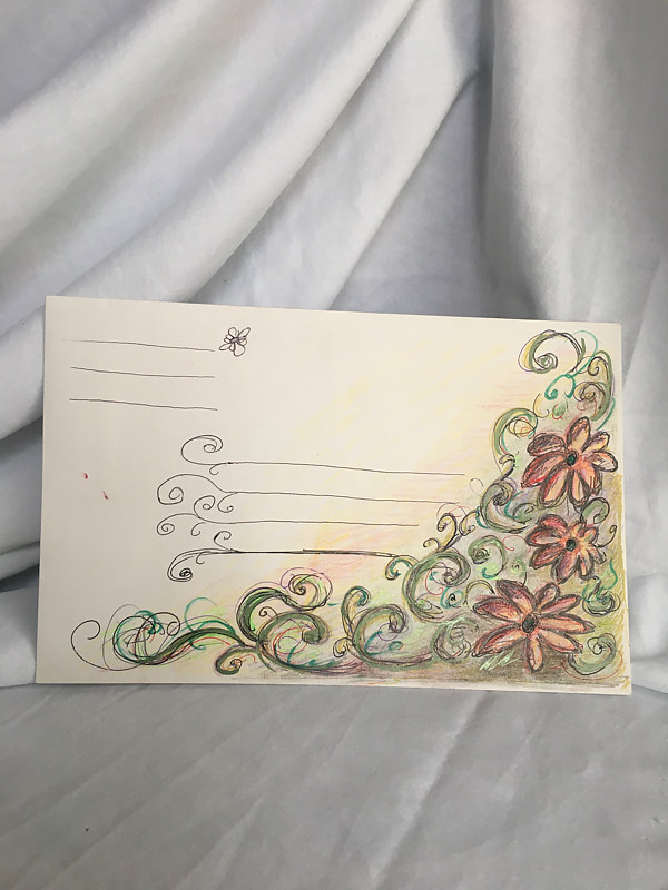 Floral ( envelope only by Trish Becker