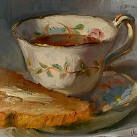 """Tea & Toast""  by Noah Verrier"