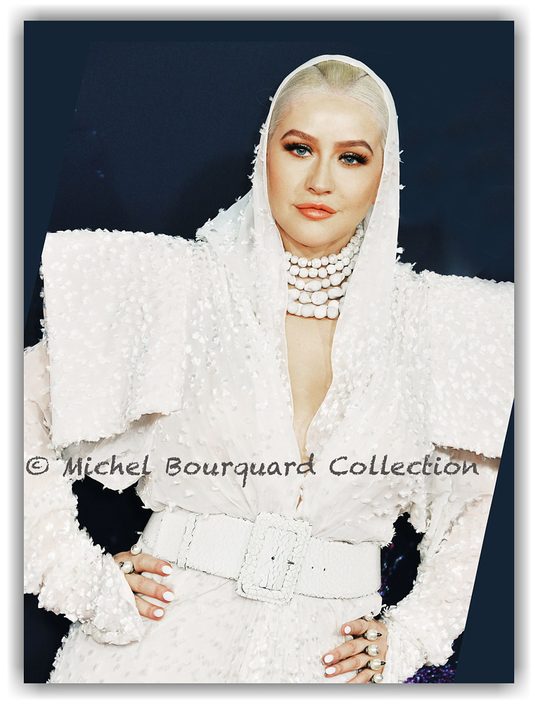 Christina Aguilera AMA 2019 by Michel Bourquard