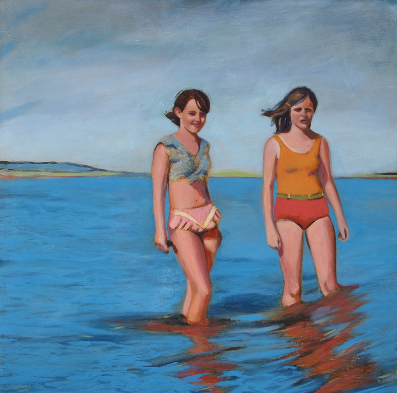 Oil painting Some things just turn out that way by Kate Scoones
