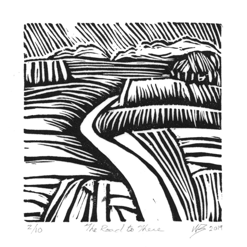 Print the road to there by Will Bushell