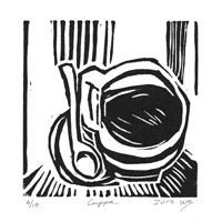 Print cuppa by Will Bushell