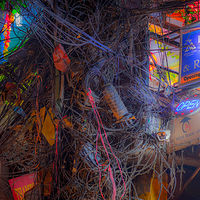 """Kathmandu Wiring, Night Life"" by Hunter Madsen"