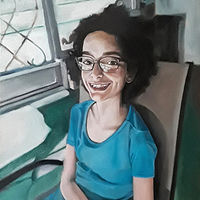 Oil painting Gianna by Timothy Innamorato