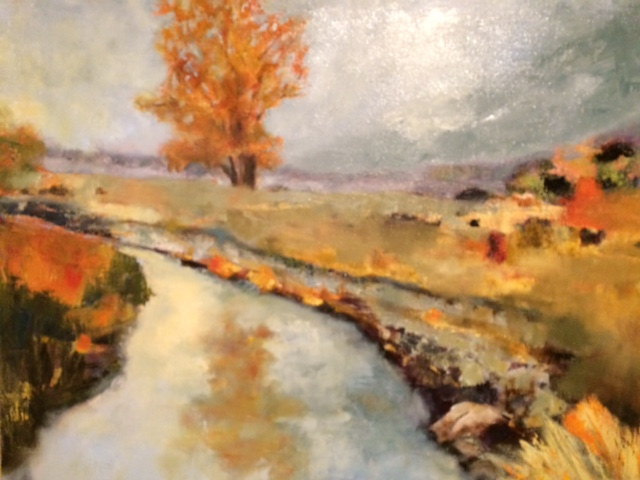 "Oil painting ""Sammamish Slew"" Available by carol Ross"