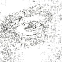 Drawing Hovig 18815 Paul Auster detail 3 1600x1600 by John Hovig