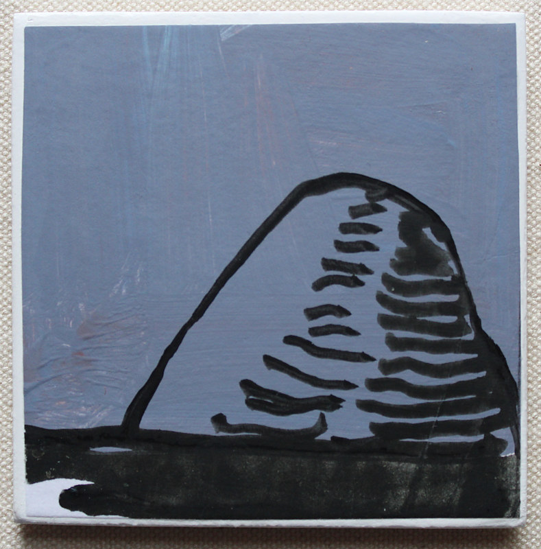 Acrylic painting Mound by Harry Stooshinoff