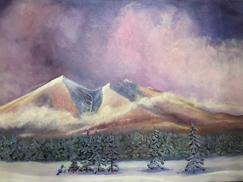 SNOWPEAKS 1 by Frederica  Hall