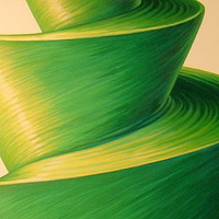 Oil painting Green Hornet by Sue Ellen Brown