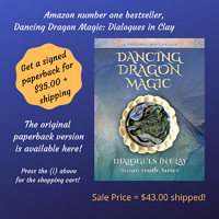 Drawing Dancing Dragon Magic: Dialogues in Clay by Susan James