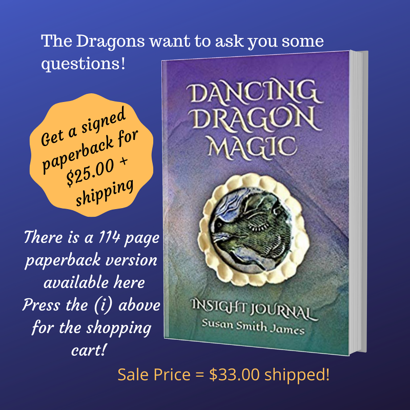 Drawing Dancing Dragon Magic Insight Journal by Susan James
