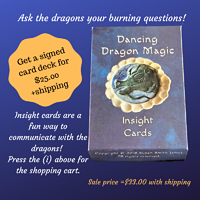 Dancing Dragon Magic Insight Cards by Susan James
